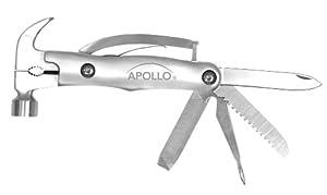 Apollo Precision Tools DT2191SI 9-in-1 Multi Hammer in a Tin, Silver