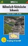 echange, troc Cartes Freytag - Carte de randonnée : Böhmisch-Sächsische Schweiz