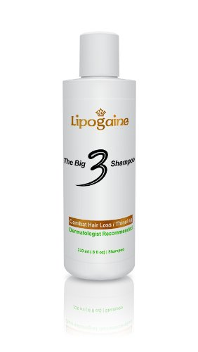 Lipogaine Big 3 Shampoo for Hair Loss/ Thinning