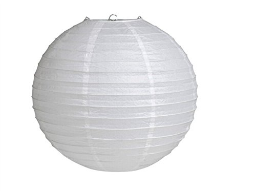 Generic GEN75465 12-Inch Paper Lantern Lamp Shades, White, 12-Pack (Rice Paper Lantern 12 compare prices)