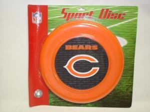 Chicago Bears Sport Disc Licensed NFL Frisbee Dog Toy