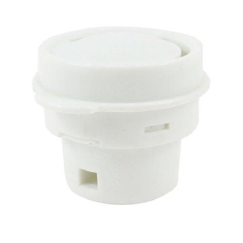 Plastic Steam Release Valve Rice Cooker Spare Parts 32Mm Dia White