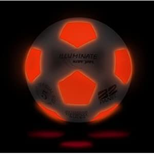 Light-up LED Glow Soccer Ball by Kan Jam Illuminate