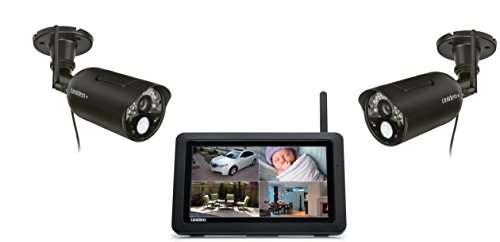 Learn More About Uniden UDR744 Outdoor Cameras with 7-Inch LCD Touchscreen (Black)