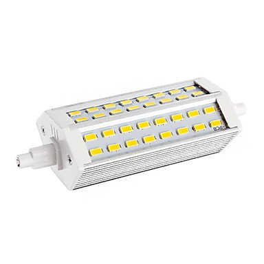 Rayshop - Dimmable R7S 12W 48Xsmd 5730 2400Lm 2800-3001K Warm White Light Led Corn Bulb(Ac 220-240V)