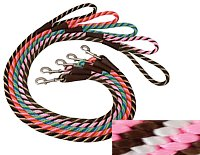 Mendota Products Small Dog Snap Leash, Pink Chocolate, 3/8-Inch x 6-Feet