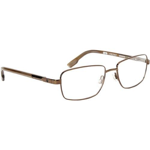 Spy Optic Colton Rx Eyeglasses - Spy Optic Adult Rx Optical Frame - Chestnut/Brown Horn / Size 54-18-140 front-826866