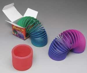 Terrific Poof - Slink Educational Products 115 Original Plastic Slinky Jr With Assorted Colors Jouets, Jeux, Enfant, Peu, Nourrisson