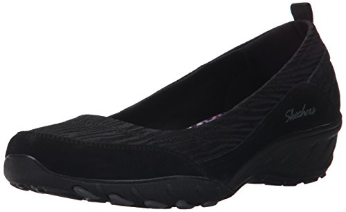 SkechersSavvy Dressed Up - Ballerine Donna , Nero (Nero (Blk)), 35