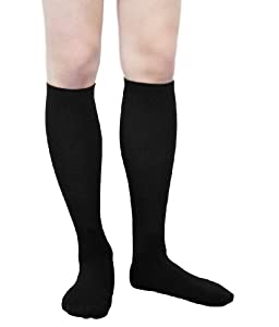 Pintoli Style 1067 Men's Comfy Support Travel and Dress Compression Socks, 15-20mmHg