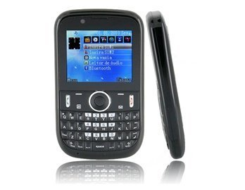 Fgf110 Java Fm Camera Tv Bluetooth +4 Gb Tf Card Support (Black) 2.2 'Tft Screen Quad-Band Dual Sim Dual Standby Mobile Phone