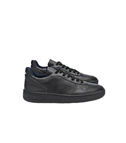 VEJA - - Uomo - Sneakers V10 Cuir Noir Mono pour homme -