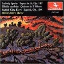 Septet in a Op 147  / Quintet in E Minor