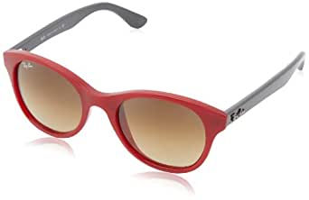 Ray-ban - Mod. 4203  - Lunettes De Soleil Unisex-Adult, red (red), taille 51