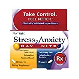 Natrol Day and Nite Stress and Anxiety Tablet - 20 per pack - 3 packs per case. (Tamaño: 10+10TAB)