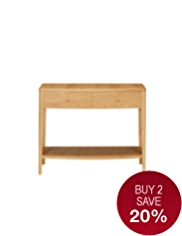 Wexford Shelf Console Table