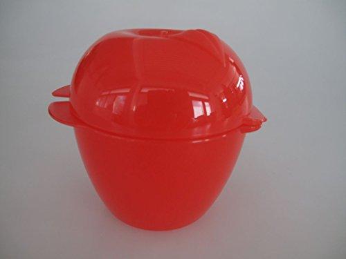 TUPPERWARE Apfel Apfeldose Dose rot box