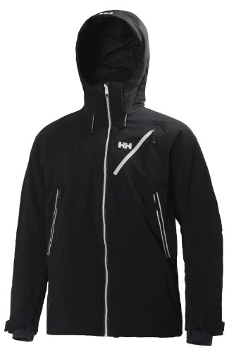 Helly Hansen Men's Mission Jacket, Black, X-Large