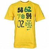 ナイキ ブラジル グラフィック S/S Tシャツ バーシティメイズ×グリーン