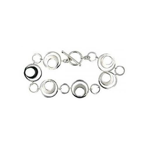 Circle and Toggle Bracelet