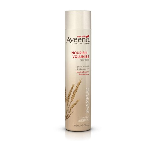 Aveeno Nourish+ Volumize Shampoo, 10.5-Ounce Bottles (Pack Of 3) front-524738