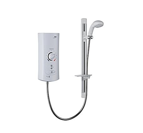 1.1643.001 Mira Advance ATL 9.0kw Electric Shower in White  &  Chrome