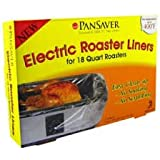 Electric Roaster Liners. 2 Per Pack