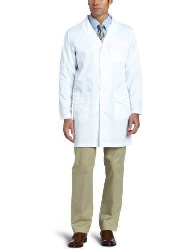 Carhartt Men's Twill 6 Pocket Lab Coat, White, 42