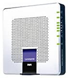Linksys WAG354G Wireless-G ADSL 2+ Modem Router Gateway, 4-Port Switch & Access Point