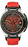 Tissot T-Race Black & Red Quartz Chronograph Rubber Men's watch #T048.417.27.057.02