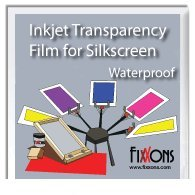 "Transparency Film for Inkjet Printers 8.5"" x 11"" (10 Sheets) Sample Pack"