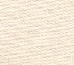 """10.10 Ounce Fine Natural Unprimed Cotton Canvas 63"""" wide by 3 yard length"""
