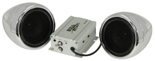 "Boss Audio Mc420B Bluetooth Enabled Motorcycle/Utv Speaker And Amplifier System, 3"" Waterproof"
