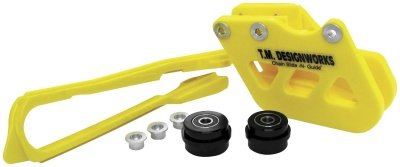 T.M. Designworks Moto-X / O.E. Replacement Rear Chain Guide Shell Yellow