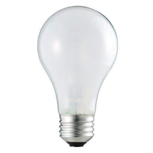 Philips 409839 Ecovantage 29-Watt (40-Watt Equivalent) A19 Soft White Light Bulb, 2-Pack front-970914