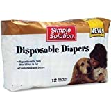 Simple Solution X-Large Disposable Dog Diapers