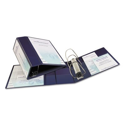 Heavy-Duty View Binder with One Touch EZD Rings, 4'' Capacit