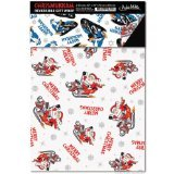 Accoutrements Chrismukkah Reversible Gift Wrap - 1