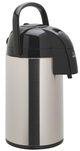 Zojirushi Supreme 3-Liter Airpot, Brushed Stainless Steel front-567084