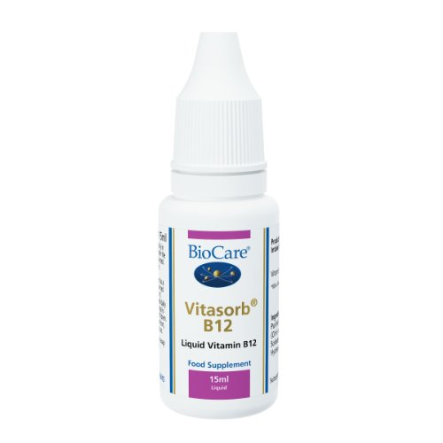 Biocare Vitasorb Vitamin B12 Liquid 15Ml
