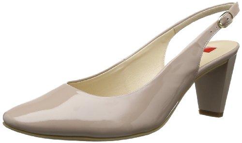 Högl shoe fashion GmbH Womens 7-106903-08000 Slingback Beige Beige (nude 800) Size: 38