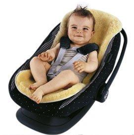 Sheepskin Stroller/Car Seat Liner