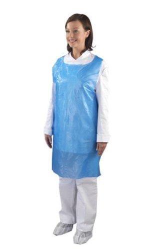 Ashland - Rotolo da 200 grembiuli monouso, colore: Blu