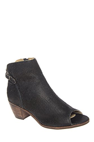 Folk Low Heel Open Toe Shootie
