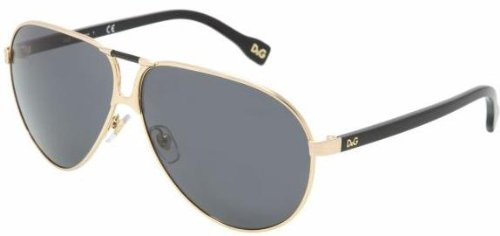 Authentic D&G Sunglasses 6067 GOLD GRAY 25487