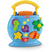 Fisher Price Ocean Wonders Tote A Tune Fishbowl (Fish Bowl Toy Fisher Price compare prices)