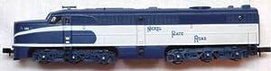 Life-Like Trains N Scale 7058: Nickel Plate Road Alco PA Diesel Locomotive, Powered, NKP #190 (N Scale)