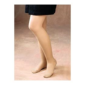 Size sheer pantyhose mist cotton