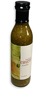 SambaFlavor Jalapeno Chimichurri Sauce - 12 oz (all Natural) by Samba Flavor