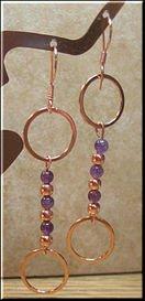 Copper Earrings #CE714B